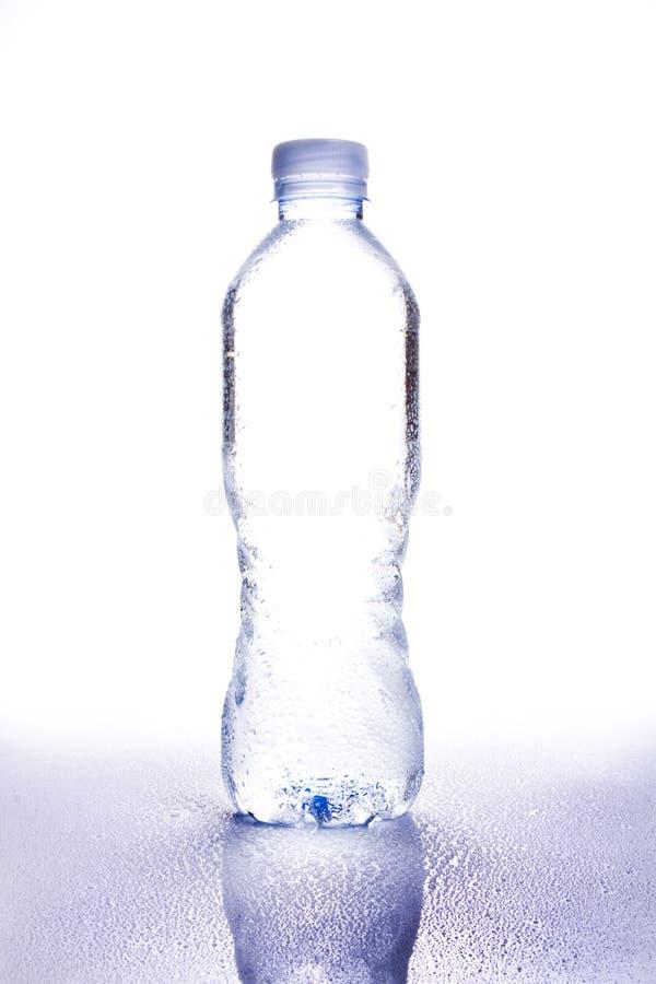 1杯瓶dropplets水 库存照片