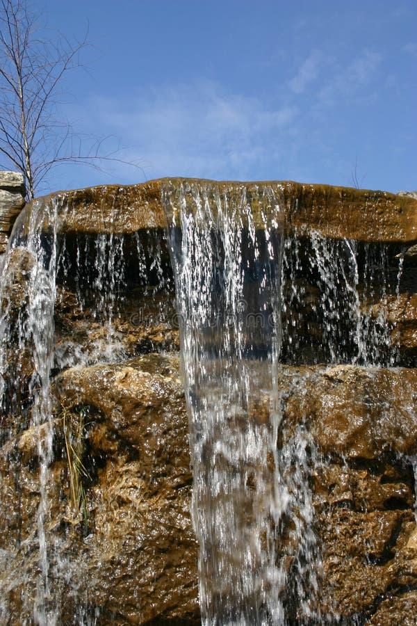 1瀑布 库存照片