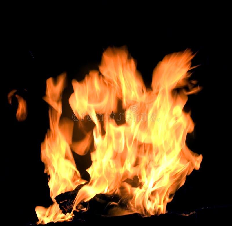 1火焰 免版税库存图片