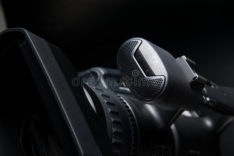 1照相机录影 库存照片