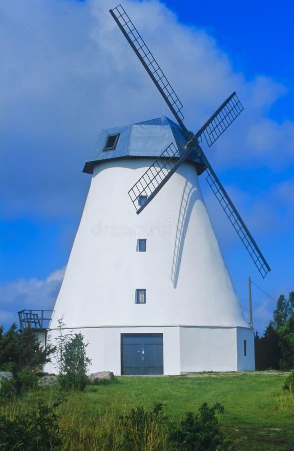 1爱沙尼亚语没有风车 库存照片