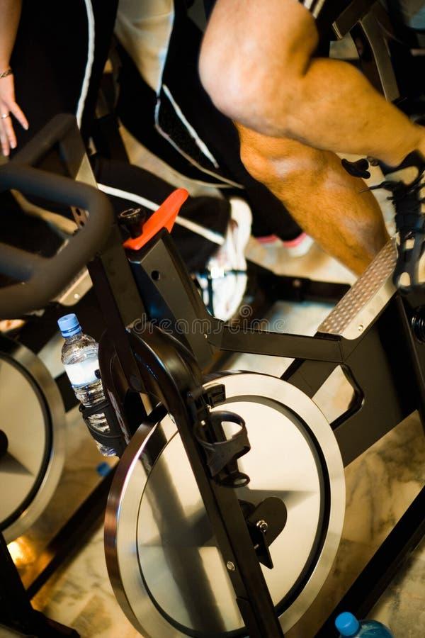 1种有效的体操生活方式 免版税库存照片