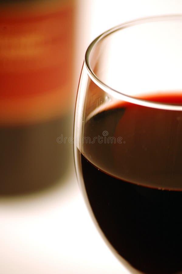 1红葡萄酒 库存照片