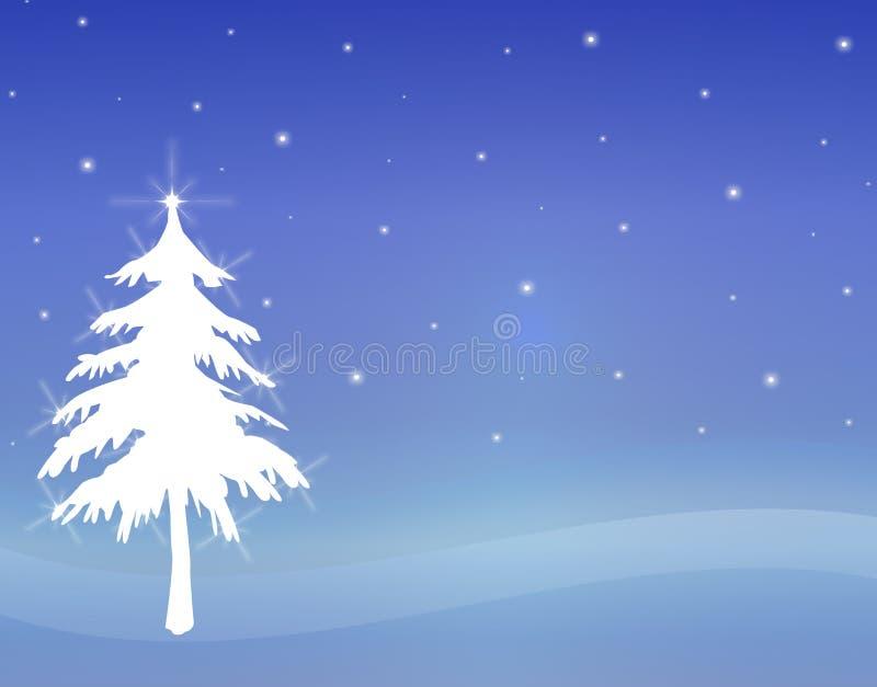 1结构树瞬息白色 库存例证