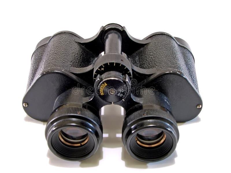 1老双筒望远镜 免版税图库摄影