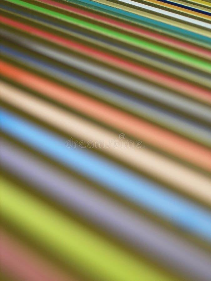 1色的数据条 免版税库存图片