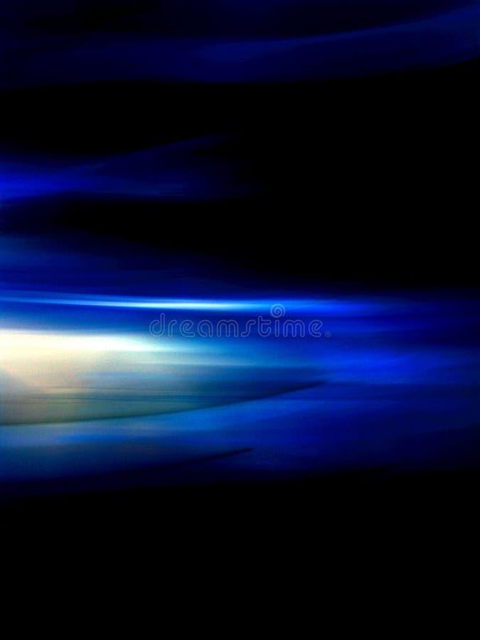 1蓝色迷离光 库存照片