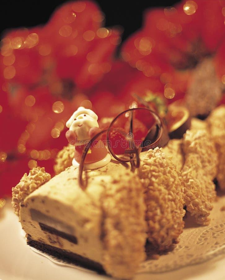 1蛋糕圣诞节 库存照片