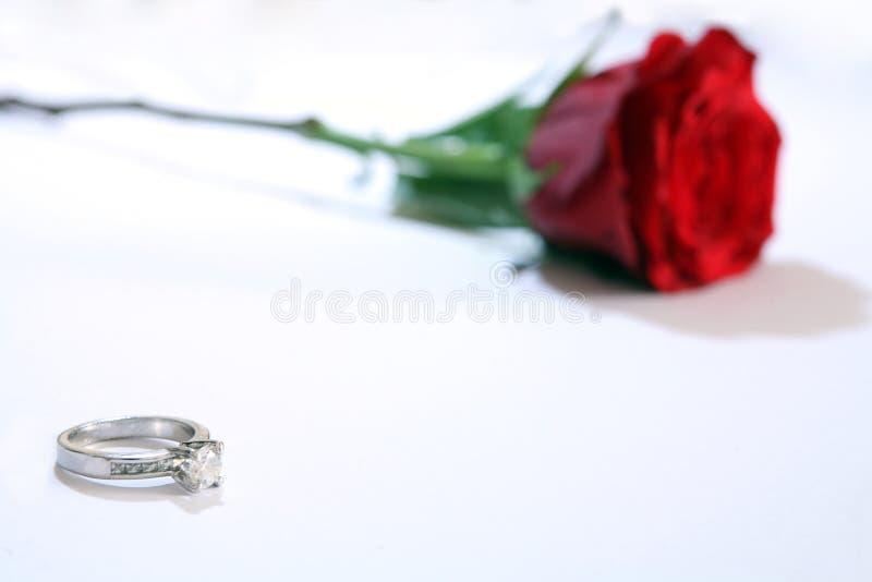1订婚 免版税库存图片