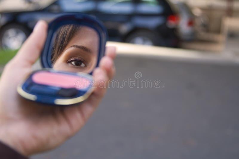 1都市的化妆用品 图库摄影