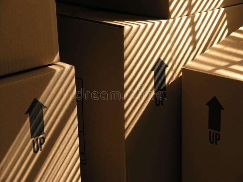 1配件箱移动 免版税库存图片
