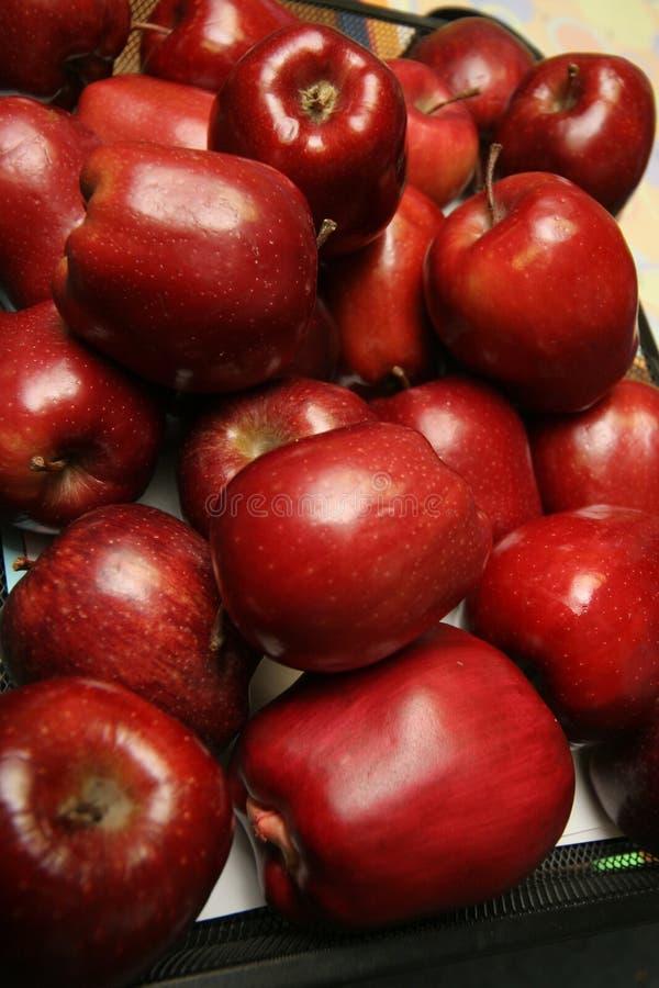 1 äppleserie arkivbild