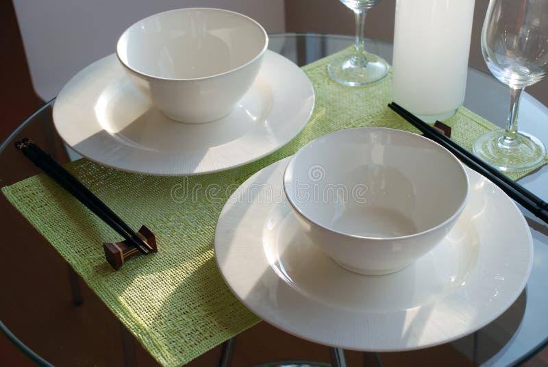 1 äta middag för kines royaltyfria foton