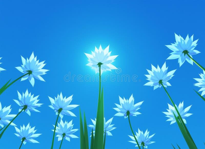 1 άνοιξη λουλουδιών ελεύθερη απεικόνιση δικαιώματος