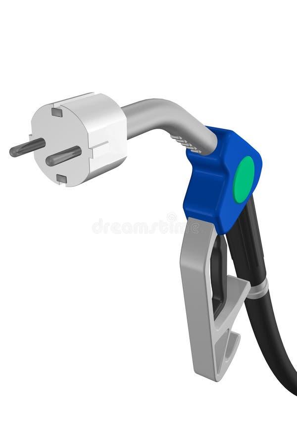 1 αέριο ηλεκτρονίων διανυσματική απεικόνιση