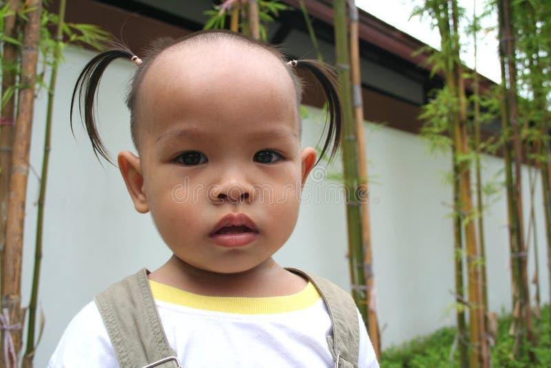 1 ασιατικό παιδί στοκ εικόνα