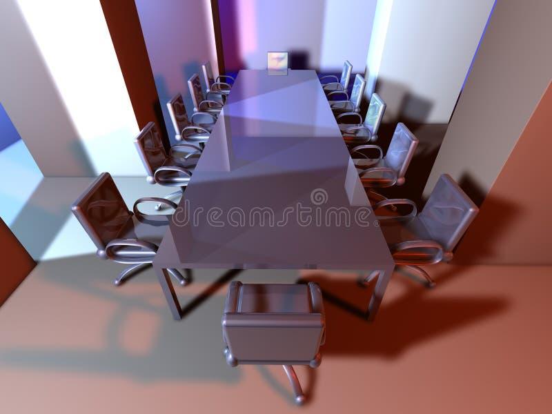 1 δωμάτιο μετάλλων συνεδρ απεικόνιση αποθεμάτων