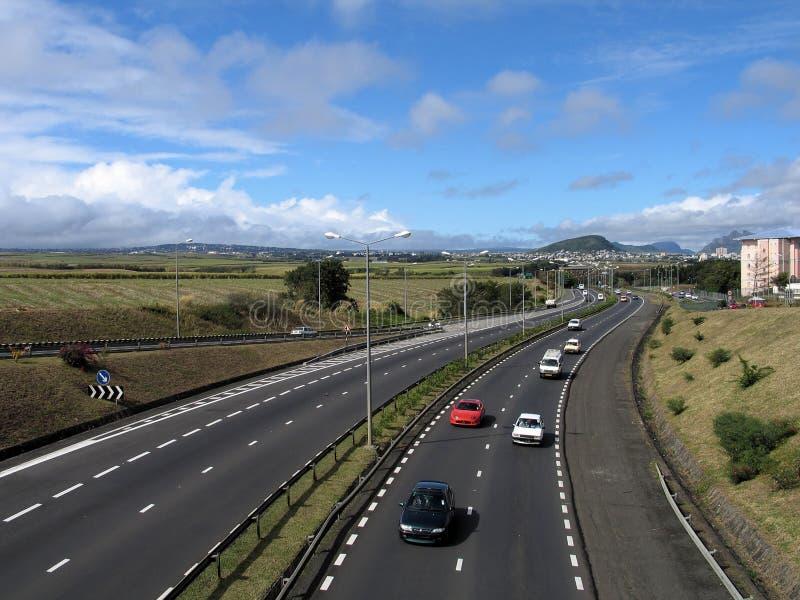 1 εθνική οδός στοκ εικόνα