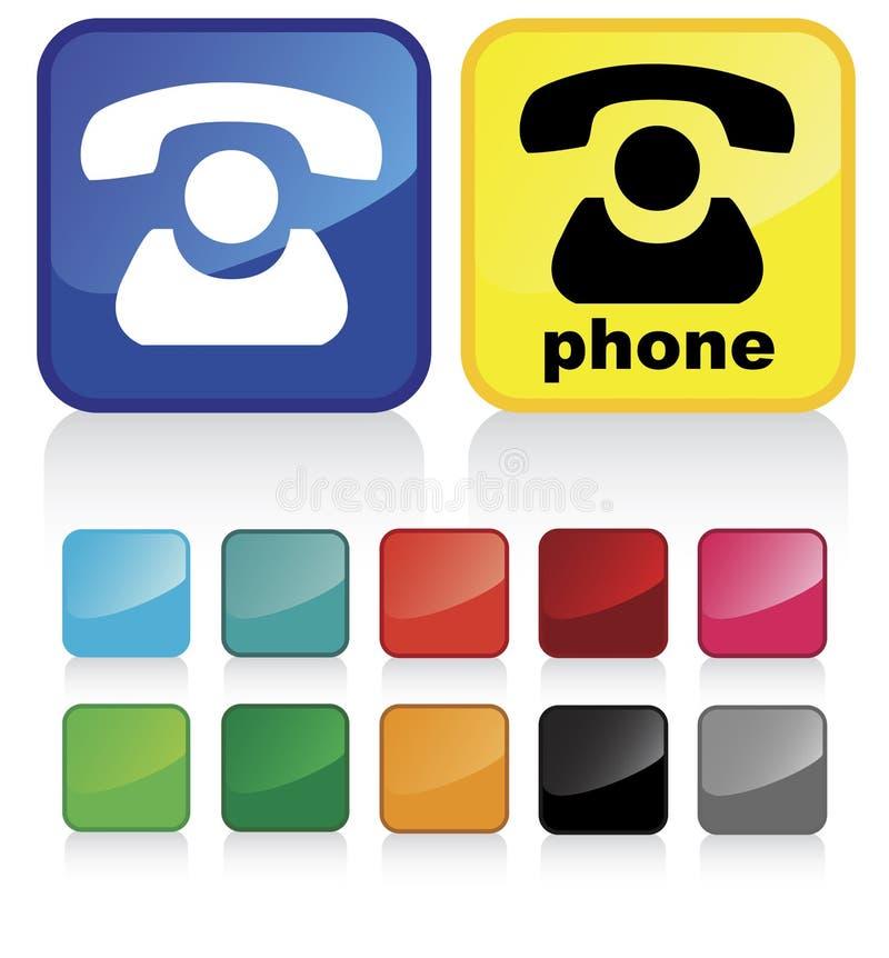 1 επαφή κουμπιών ελεύθερη απεικόνιση δικαιώματος
