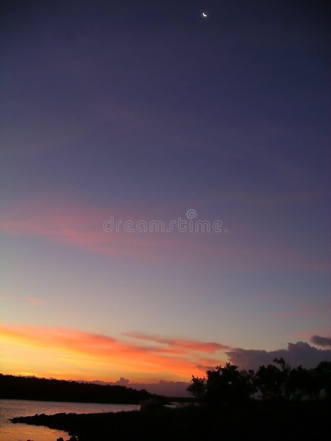 1 ηλιοβασίλεμα στοκ φωτογραφία