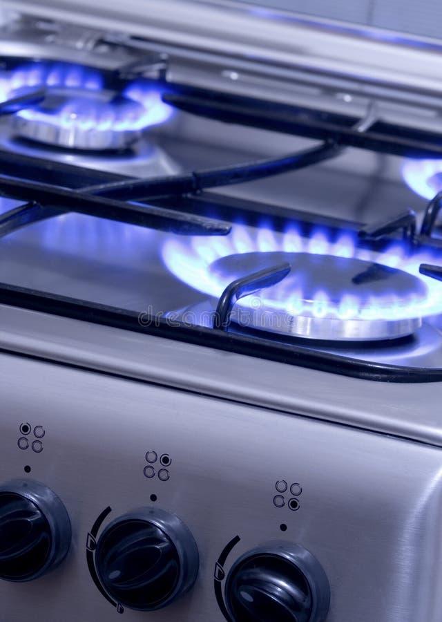 1 καίγοντας αέριο στοκ φωτογραφία με δικαίωμα ελεύθερης χρήσης