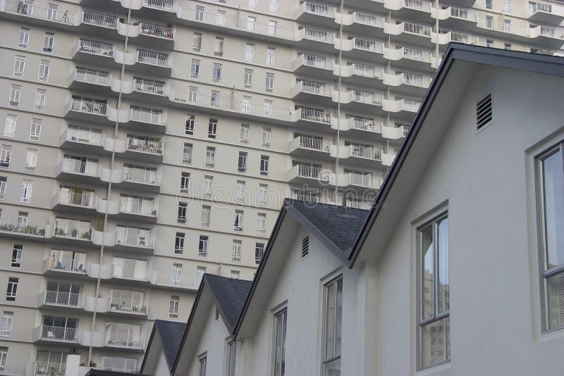 1 κατοικία πόλεων στοκ εικόνες