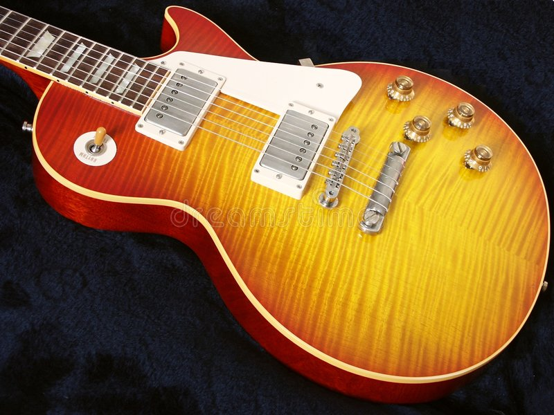 1 κιθάρα στοκ φωτογραφίες