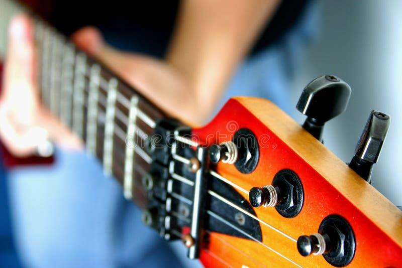 1 κιθάρα στοκ φωτογραφία
