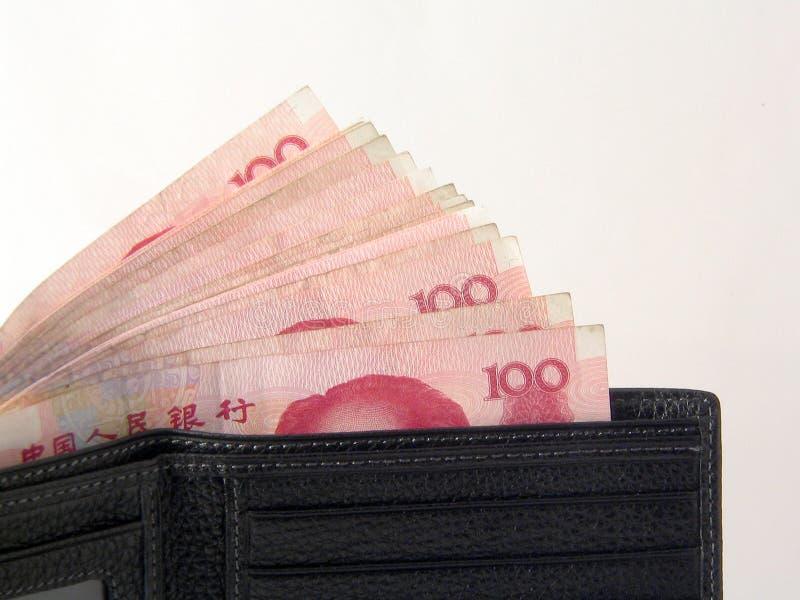 1 κινεζικά χρήματα στοκ εικόνες