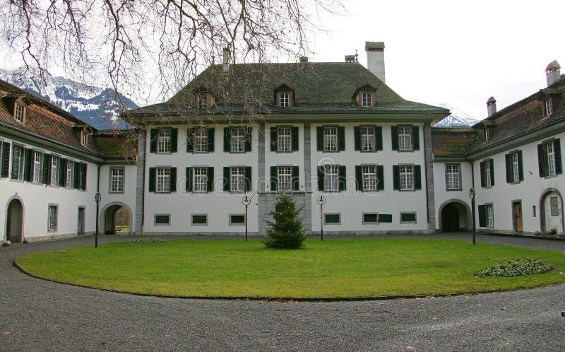 1 μέγαρο συμπαθητικός Ελβετός στοκ φωτογραφίες