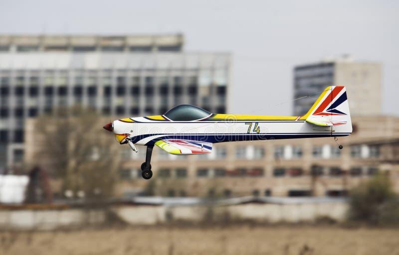 1 μοντέλο αεροσκαφών στοκ εικόνα με δικαίωμα ελεύθερης χρήσης