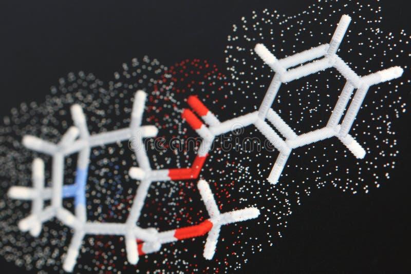 1 μόριο κοκαΐνης στοκ φωτογραφία με δικαίωμα ελεύθερης χρήσης