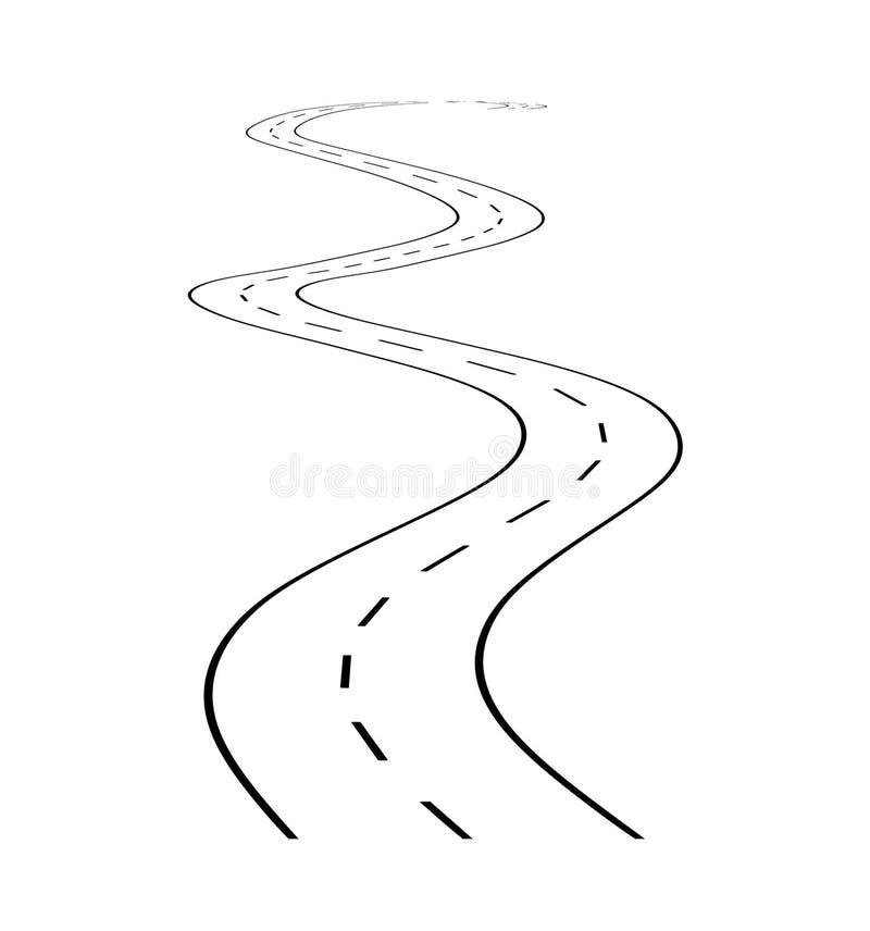 1 οδική στροφή απεικόνιση αποθεμάτων