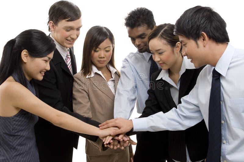 1 ομάδα επιτυχίας στοκ εικόνα με δικαίωμα ελεύθερης χρήσης