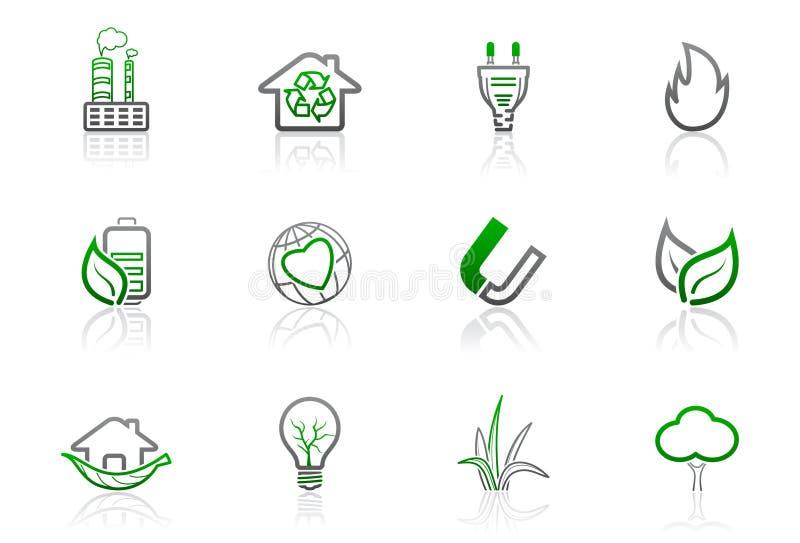 1 περιβαλλοντική σειρά ε&iot ελεύθερη απεικόνιση δικαιώματος