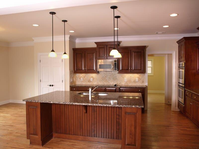 1 πολυτέλεια κουζινών νη&sigm στοκ φωτογραφία με δικαίωμα ελεύθερης χρήσης