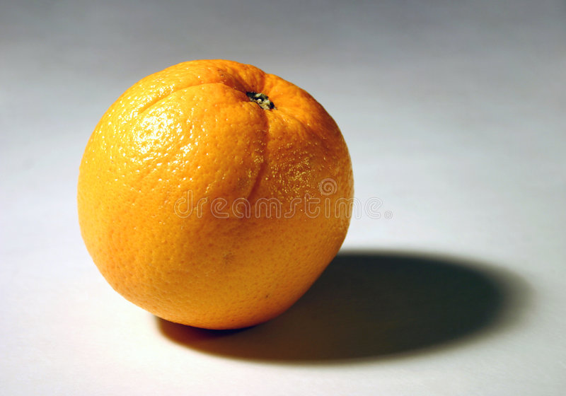 1 πορτοκάλι Στοκ Φωτογραφίες