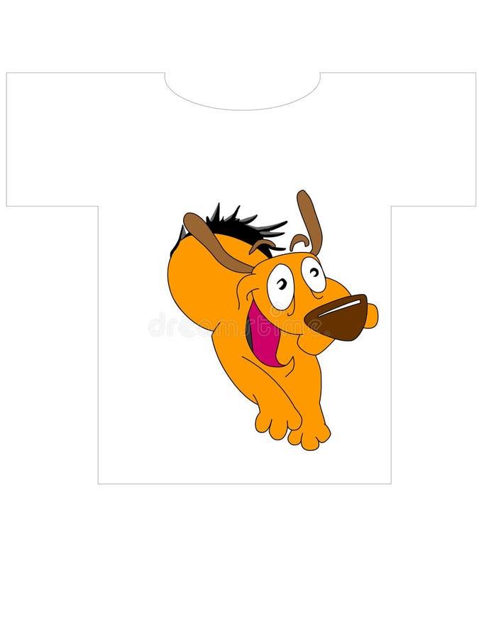 1 πουκάμισο τ σκυλιών σχε ελεύθερη απεικόνιση δικαιώματος