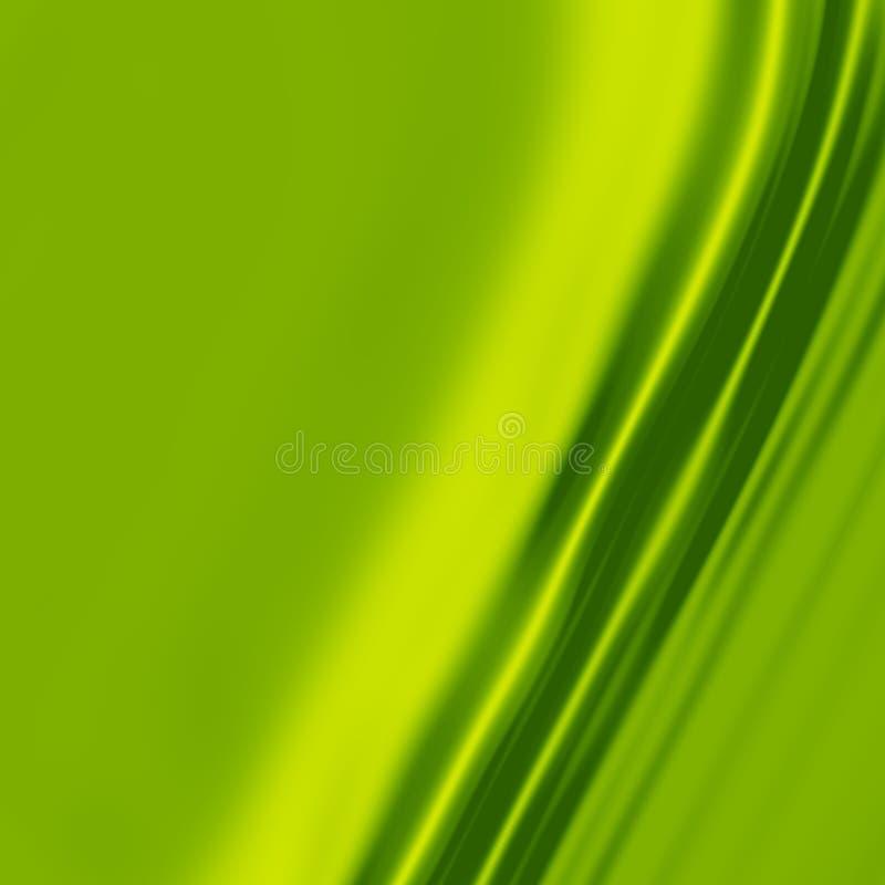 1 πράσινο μετάξι απεικόνιση αποθεμάτων