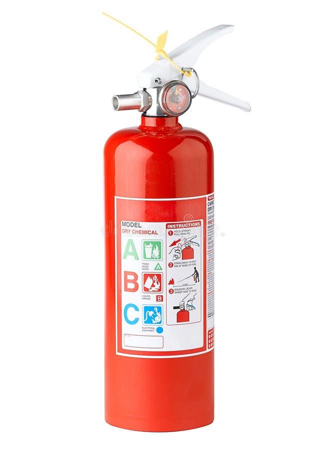 1 πυρκαγιά πυροσβεστήρων στοκ εικόνα με δικαίωμα ελεύθερης χρήσης