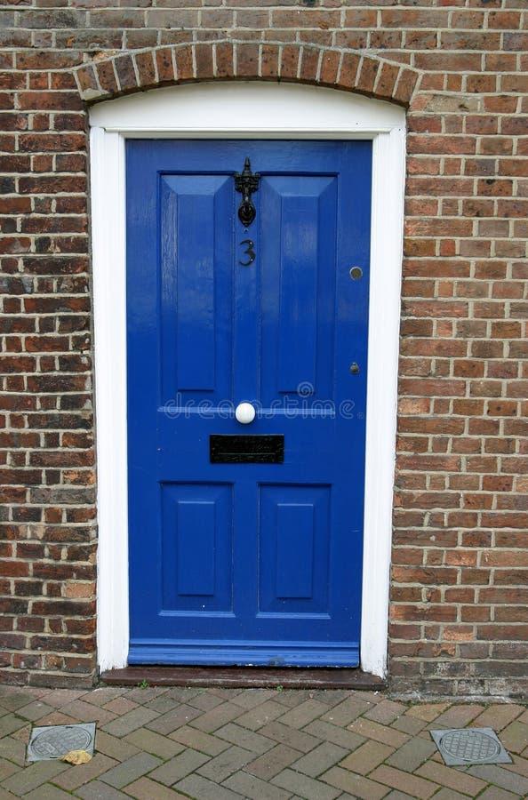 1 πόρτα Γεωργιανός στοκ φωτογραφία με δικαίωμα ελεύθερης χρήσης