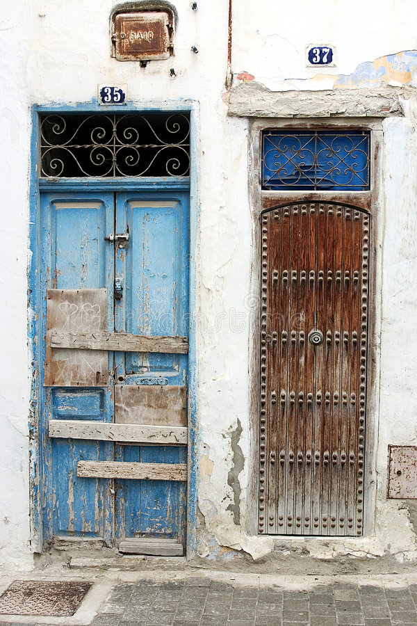 Download 1 πόρτες Μαροκινός στοκ εικόνες. εικόνα από οδοί, χαρακτηριστικός - 2230598