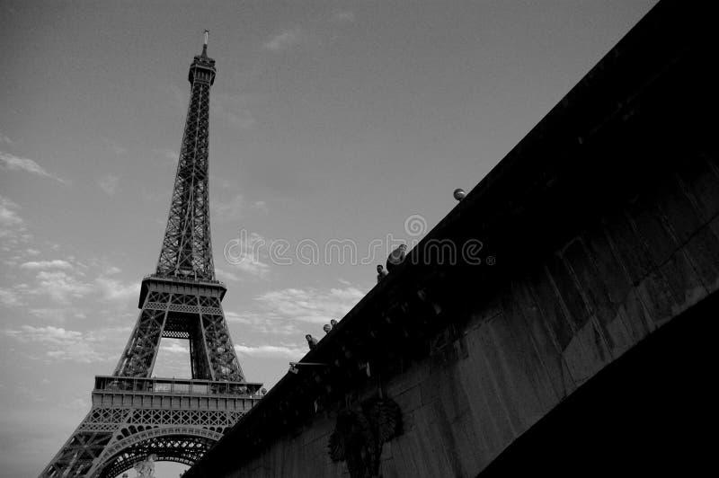 1 πύργος του Άιφελ στοκ εικόνα με δικαίωμα ελεύθερης χρήσης