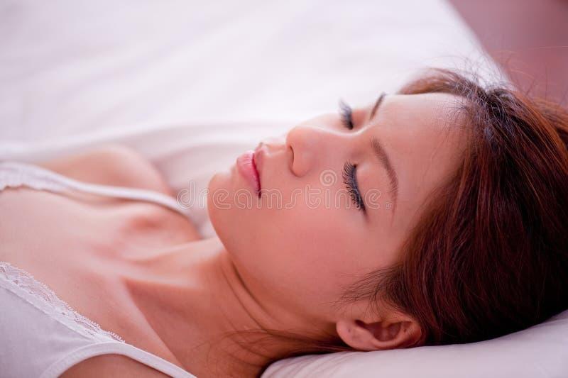 1 σειρά ύπνου στοκ εικόνες