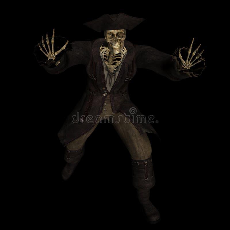 1 σκελετός πειρατών ελεύθερη απεικόνιση δικαιώματος