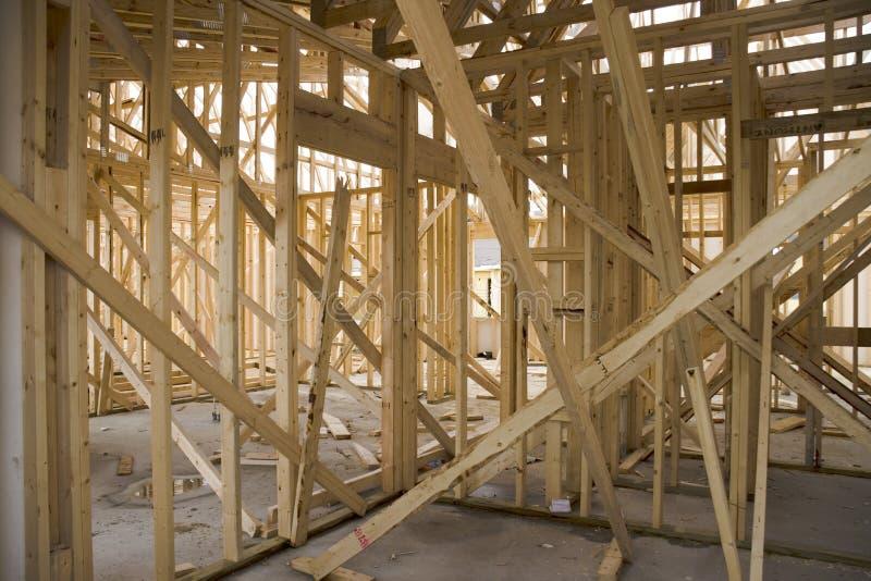 1 σπίτι κατασκευής στοκ εικόνες με δικαίωμα ελεύθερης χρήσης