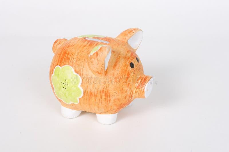 1 τράπεζα piggy στοκ φωτογραφία με δικαίωμα ελεύθερης χρήσης