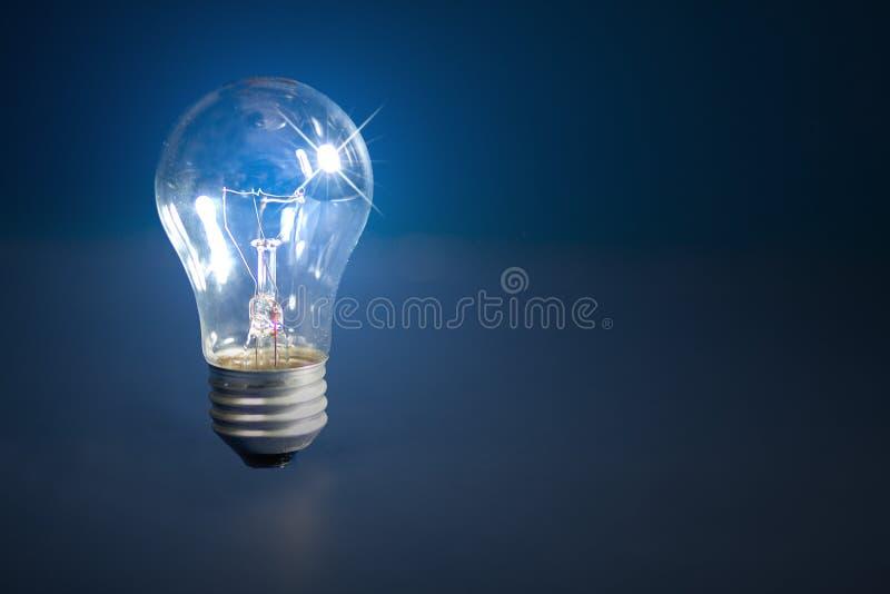 1 φως βολβών ανασκόπησης διανυσματική απεικόνιση