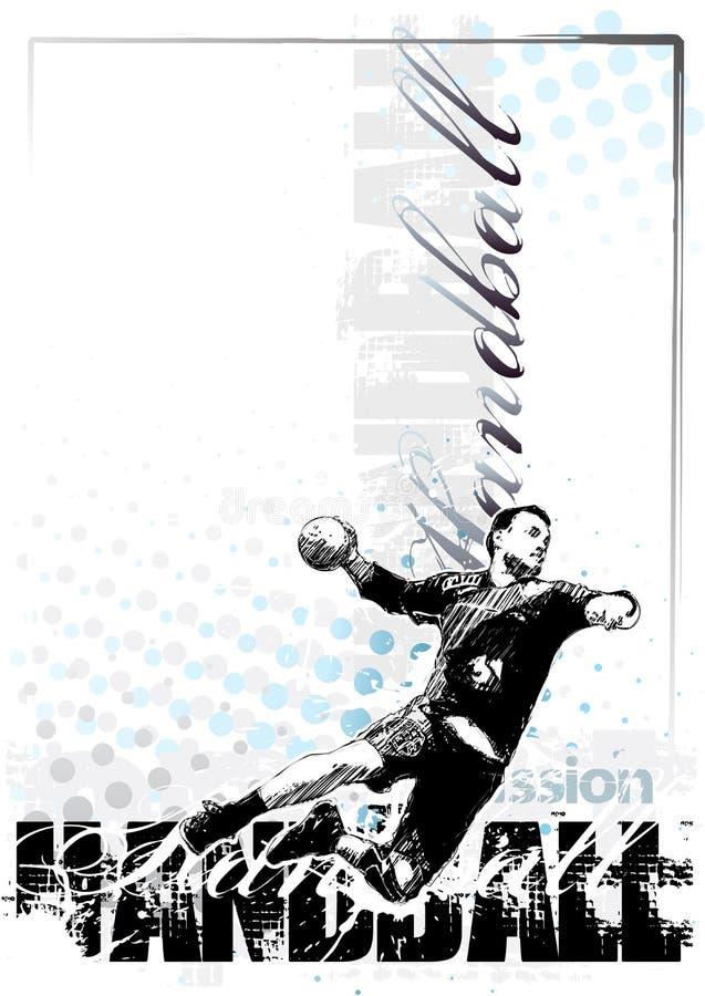 Download 1 χάντμπολ ανασκόπησης διανυσματική απεικόνιση. εικονογραφία από παιχνίδι - 13187400