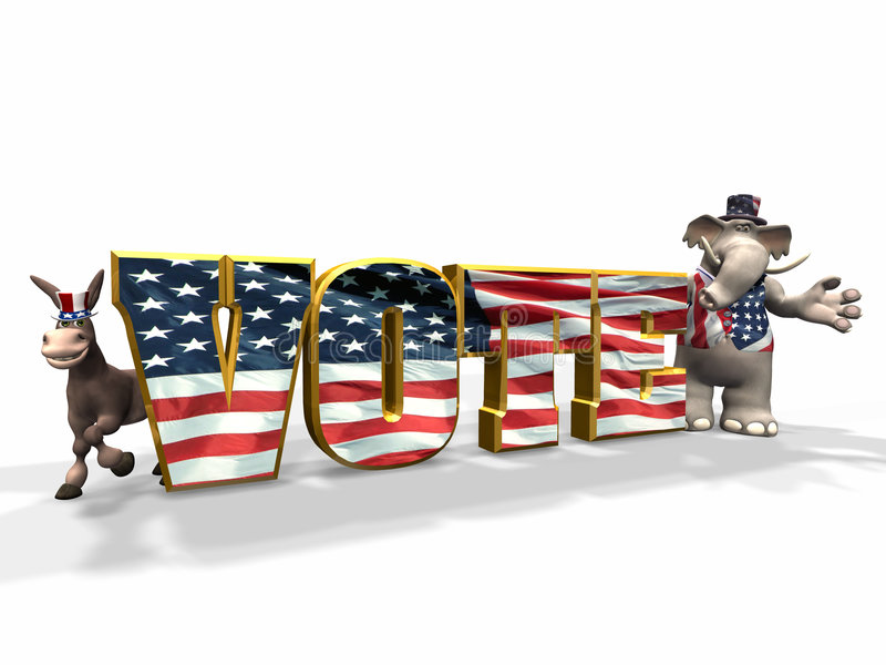 1 ψήφος ελεύθερη απεικόνιση δικαιώματος